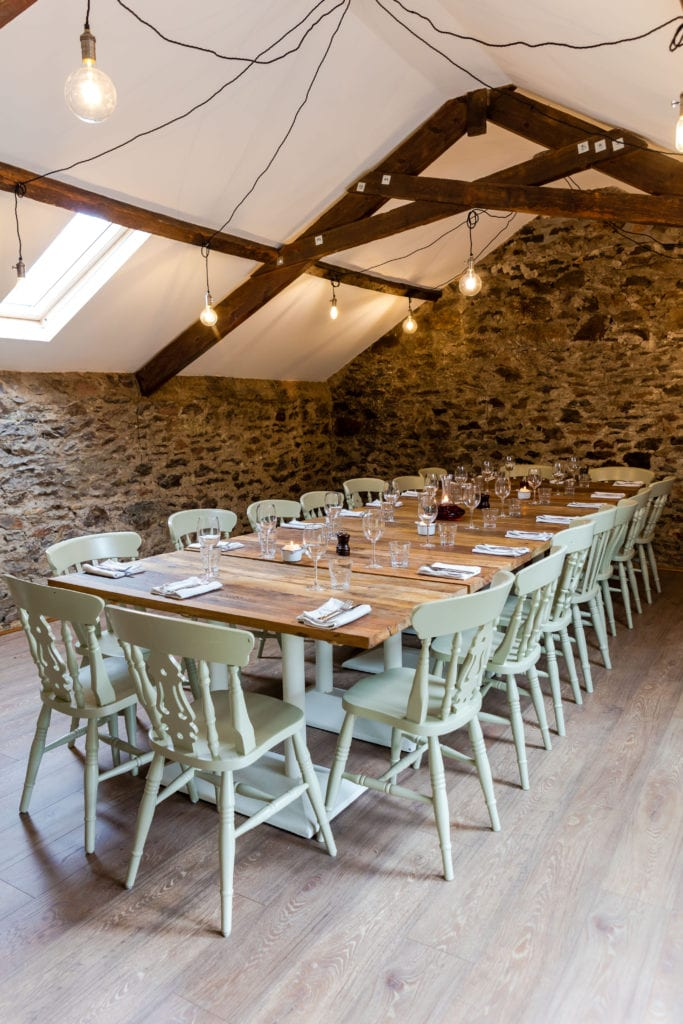 The Loft at the Carew Arms - Private Dining in Cornwall