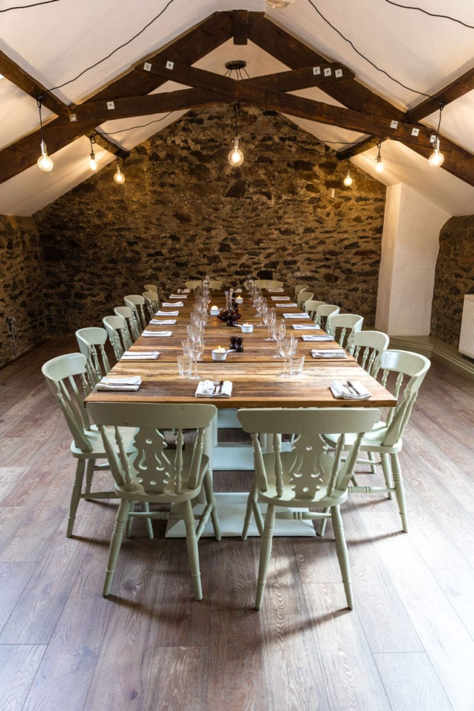 The Loft Private Dining Room at The Carew Arms